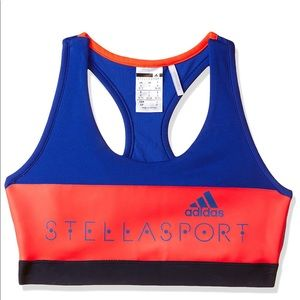 Adidas by STELLASPORT Colourblocked Sport Bra 💙❤️